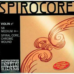 Thomastik Spirocore fém hegedűhúr SET E aluminum medium