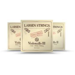 Larsen Soloist A fém csellóhúr, Medium, steel core, wounded