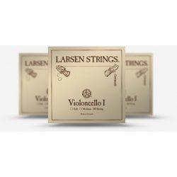 Larsen Original csellóhúr SET, Medium