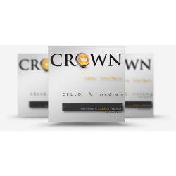 Larsen Crown csellóhúr Set, Medium