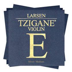 Larsen Tzigane szintetikus hegedűhúr Set,  Medium, with E Ball-End