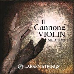 Larsen Il Cannone hegedűhúr Set, Medium, E Ball End