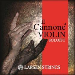 Larsen Il Cannone hegedűhúr Set, Soloist, E Ball End