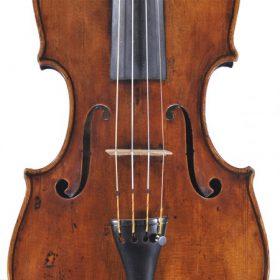 Antik művész hegedű