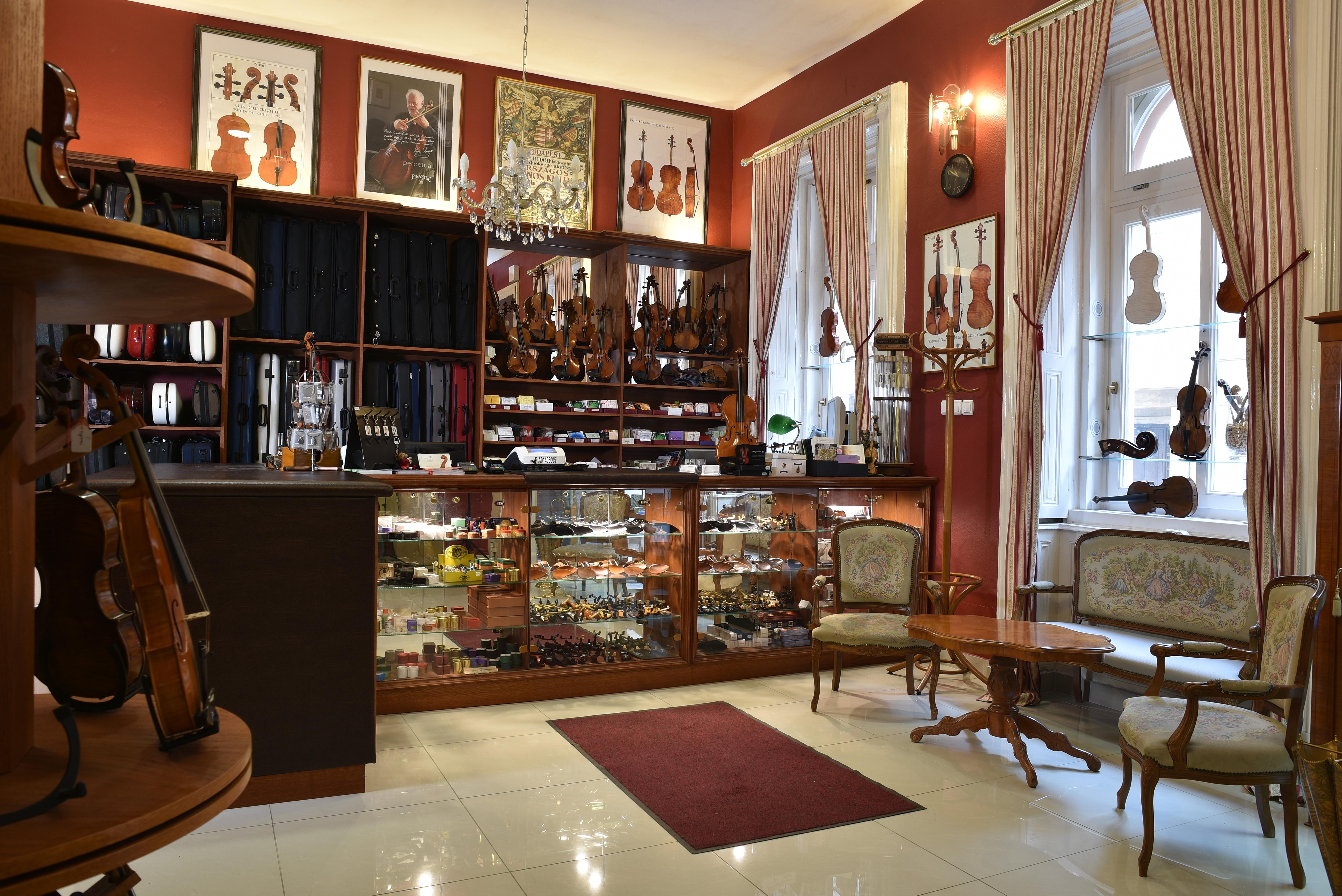 Darius Music - hegedűk, brácsák, csellók, nagybőgők, francia és német mestervonók