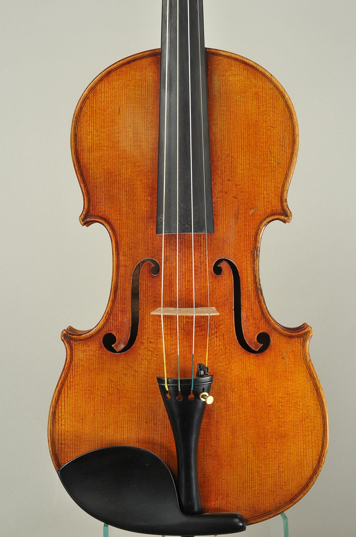 Franz Johann Glass 1847-1935 Violin, Leipzig 1897