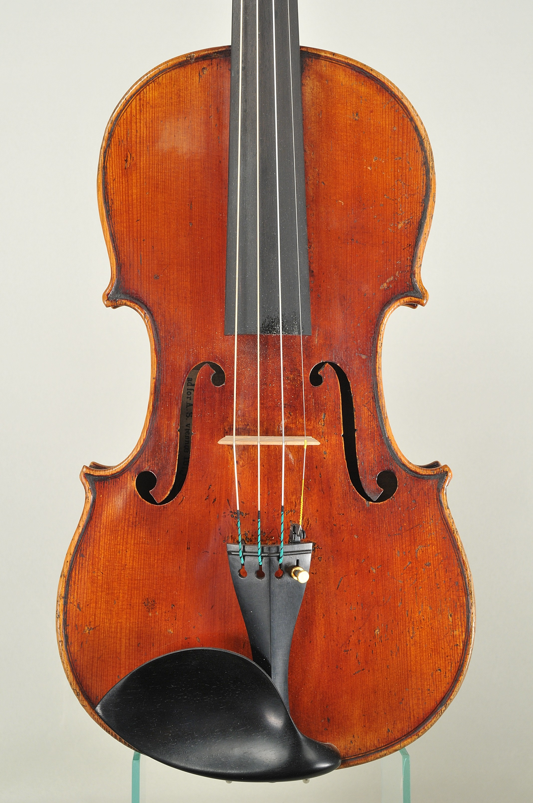 Thomas Zach 1812-1892 Violin, A.S.viennae 1873